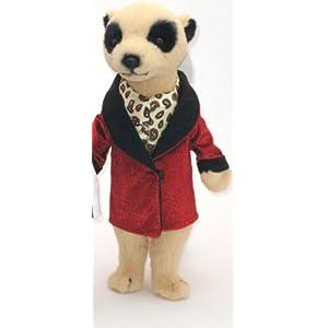"14"" Dressed Meerkat Soft Toy"