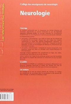 Livres Couvertures de Neurologie: Réussir les ECNi