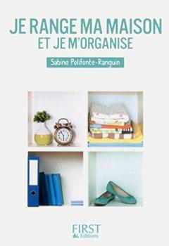Livres Couvertures de Petit livre de - Je range ma maison et je m'organise