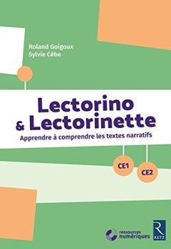 Livres Couvertures de Lectorino & Lectorinette (+ CD-Rom) - CE1-CE2
