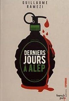 Livres Couvertures de Derniers Jours à Alep