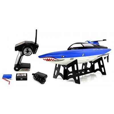 Velocity-Toys-Great-White-Shark-24GHz-15-MPH-RTR-Ready-to-Run-Electric-RC-Speed-Boat
