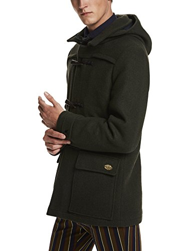 Scotch & Soda Herren Jacke Classic Duffle Coat in Wool Quality