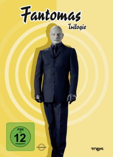 Fantomas Trilogie (Box-Set, 3 DVDs)