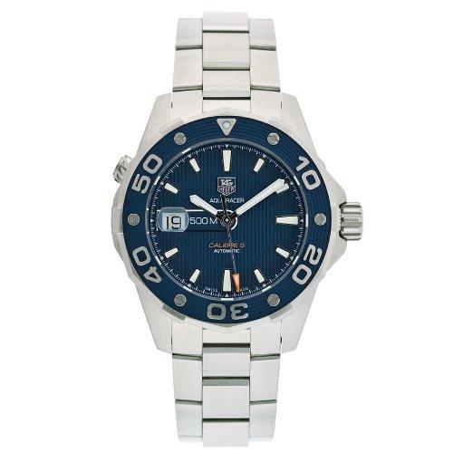 TAG Heuer Men's WAJ2112.BA0870 Aquaracer Calibre 5 Automatic 500M Watch