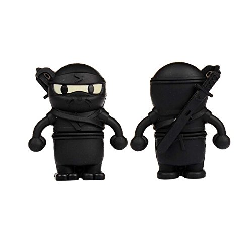 Ebimay ® 8GB Novelty Cartoon Cool Ninja USB Flash Pen Drive Memory