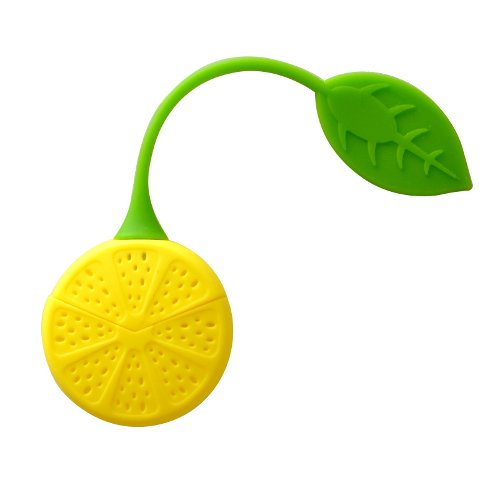 Lemon Silicone Tea Leaf Herbal Infuser Maker Filters Strainer Cute and Good Ideas
