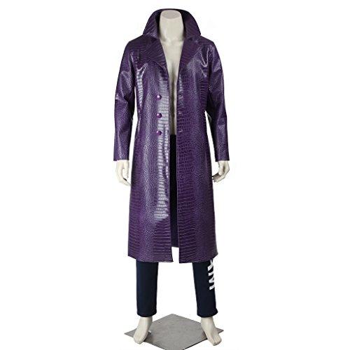 CosplayDiy Men's Suit for Suicide Squad Batman Joker Cosplay M