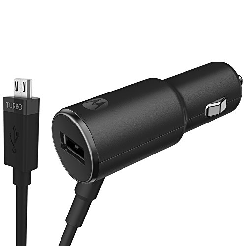 Quick Car Chargers 25W For Smartphones, Tabs, Cameras [Black Color]