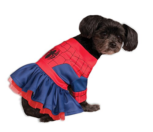 Rubies Costume Company Marvel Classic/Marvel Universe Spider-Girl Pet Costume, Large