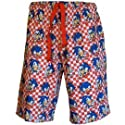 Sonic The Hedgehog- Check Loungeshorts - X-Large