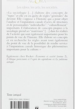 Livres Couvertures de Economie et société, tome 1 : Les Catégories de la sociologie