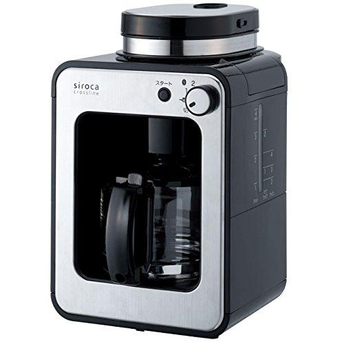 siroca crossline 全自動コーヒーメーカー ガラスサーバー [AllAbout 家電アワード2015コーヒーメーカー部門受賞モデル] STC-401