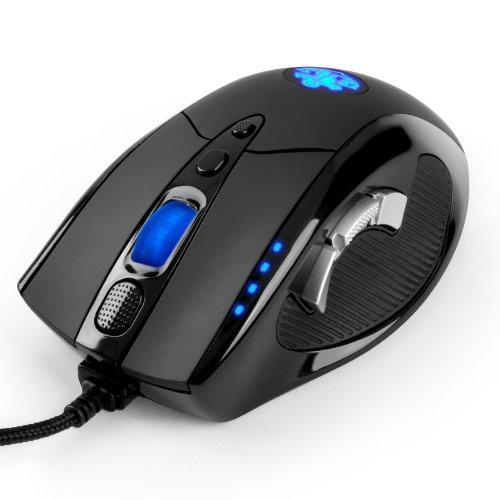 Anker ゲーミングマウス ゲーム用高精度レーザーマウス [8000 DPI 9つのプログラマブルボタン マクロ設定可能 調節可能なウェイトカートリッジ オムロンマイクロスイッチ搭載]【18ヶ月の保証期間】