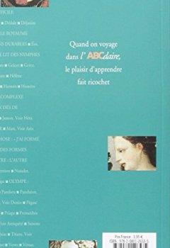 Livres Couvertures de L'ABCdaire de la mythologie grecque et romaine