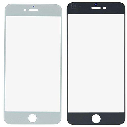 ixuan iPhone 6s 4.7 inch 修理用 フロント液晶パネル用ガラス(液晶スクリーン含まず)液晶割れ修理用パーツ修理工具付き(ブラック) ホワイト