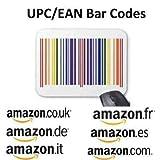 50 EAN UPC Code Barcode Nummern Barcodes EAN-13 Bar Codes 100% Neu für Amazon, Ebay, Itunes, Priceminister, Play.com u.a