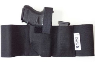 ActiveProGear Defender Concealment Belly Band Holster (Medium 33-38 Inches, Right Hand Draw)