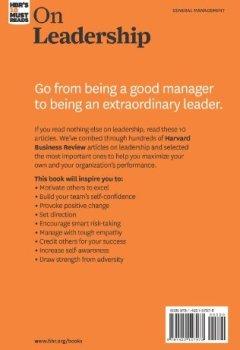 Livres Couvertures de HBR's 10 Must-Reads On Leadership