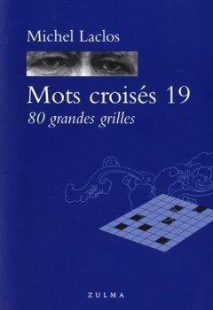 Livres Couvertures de MOTS CROISES 19 80 GRANDES GRILLES