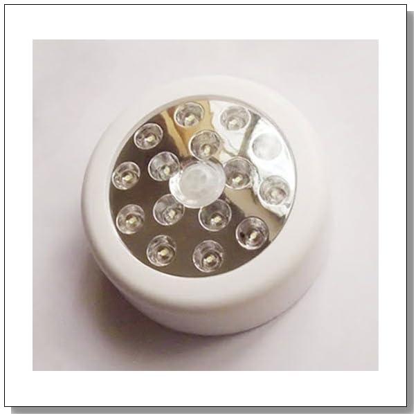Super Bright 15 LED Wireless Auto PIR Sensitive Motion Sensor Activated Light - White