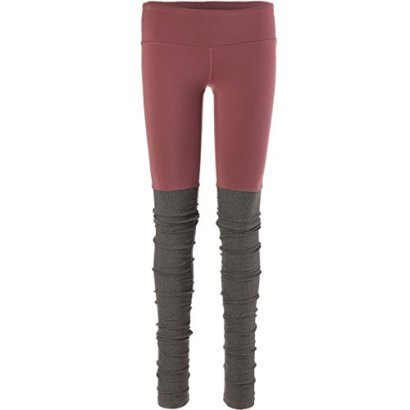 ALO-Womens-Goddess-Ribbed-Legging-GrenacheStormy-Heather-Pants-XS-X-34