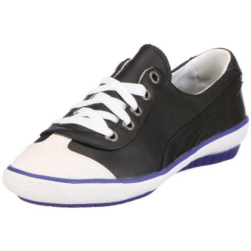 Puma 351042 03 917 Mini Leather Wn's, Damen Sneaker, Schwarz (black), EU 38.5, (UK 5.5)