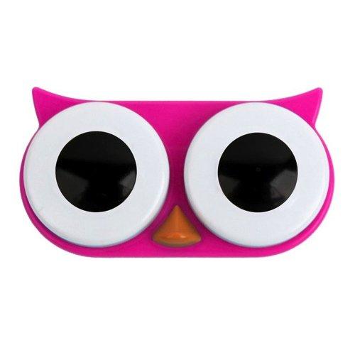 Kontaktlinsenbehälter SWEET OWL pink
