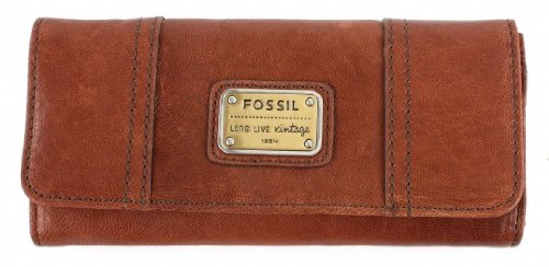 Fossil Emory 29 Clutch - Saddle