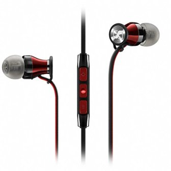 Sennheiser Momentum in-ear i Black - Auriculares con cable para móvil in-ear...
