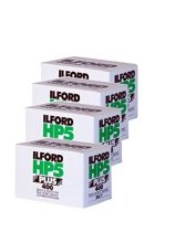 Four-Pack-of-Ilford-HP5-Plus-35mm-Black-White-Negative-Film-36-Exp