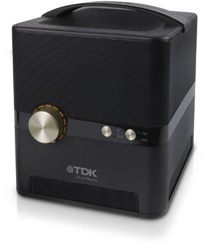 TDK LoR Bluetooth 360度サウンドシャワースピーカー コンパクトサウンドキューブ A360
