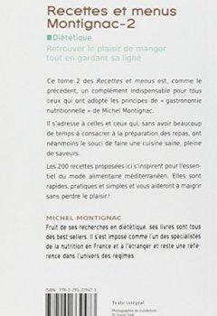 Livres Couvertures de Recettes et menus Montignac, tome 2 : 200 recettes provençales