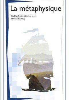 Livres Couvertures de La métaphysique