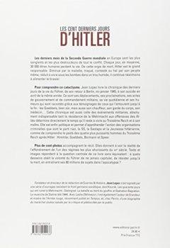 Livres Couvertures de Les cent derniers jours d'Hitler