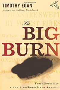 "Cover of ""The Big Burn: Teddy Roosevelt a..."