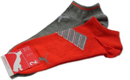 Puma modischer Sneaker Socken 2Paar (drizzle melange) 43-46