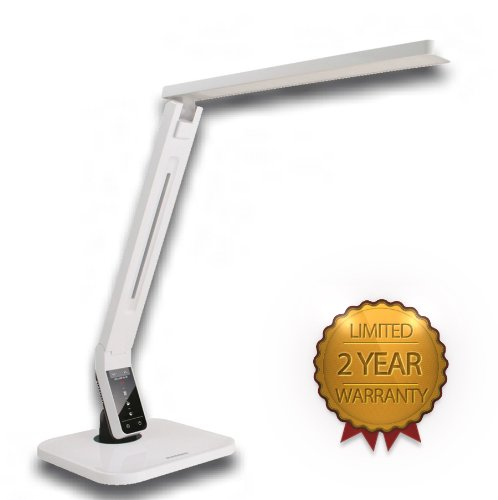 Softech-natural Light LED Multi-function Desk Lamp White