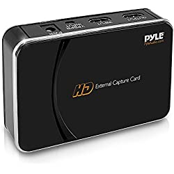 Pyle PHDRCB26 Game Capture HD Streaming video game recorder 1080p HDMI Xbox PS3 Wii TV Gaming Computers