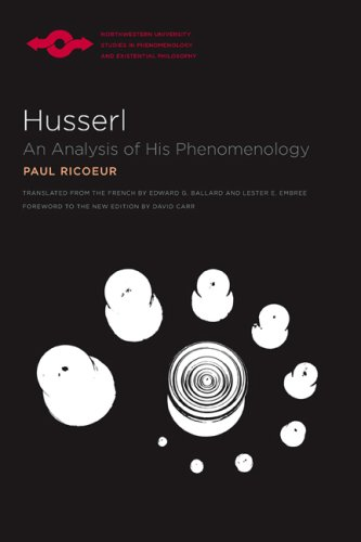 Husserl: An Analysis of His Phenomenology (Studies in Phenomenology and Existential Philosophy)