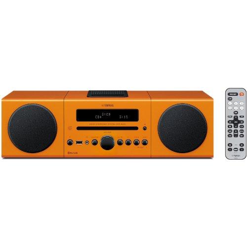 ヤマハ マイクロコンポ Bluetooth対応 オレンジ MCR-B142(D)
