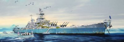 Trumpeter-USS-Missouri-BB-63-Model-Kit
