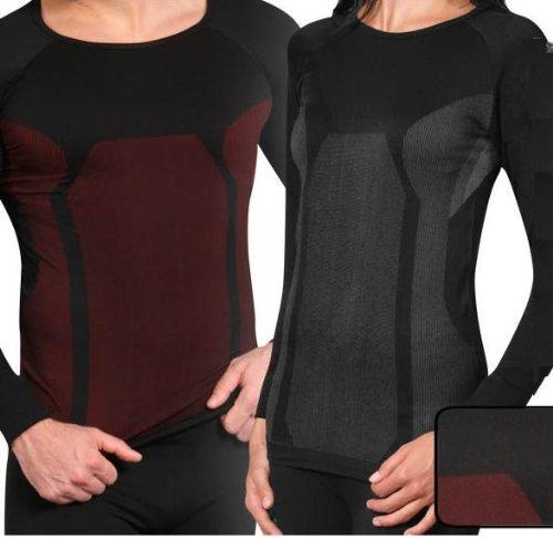 Thermo Sport Funktionswäsche Hemd - Ski Unterwäsche mit Elasthan von normani®