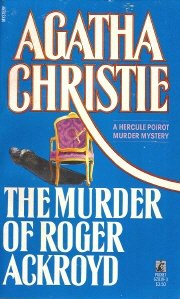 "Cover of ""The Murder of Roger Ackroyd"""