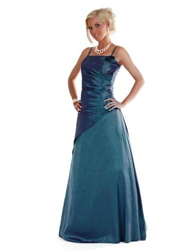 Envie/Paris - 1009 SOPHIA Abendkleid Ballkleid 1-teilig in Petrol Gr.38-56