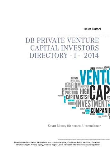 Buchcover: DB Private Venture Capital Investors Directory I - 2014
