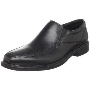 Bostonian Men's Mendon Dress Slip-On,Black Leather,10 M US