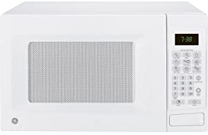 ge jes0738dpww 0 7 cu ft countertop microwave oven with 700 cooking watts white kitchen dining giftoflove