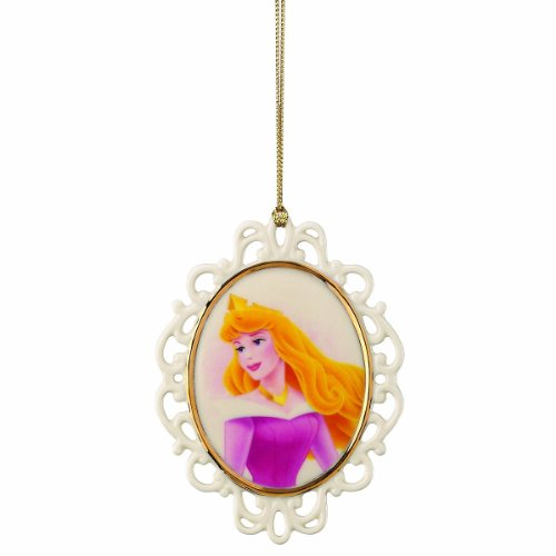 Lenox Aurora Sleeping Beauty Cameo Ornament