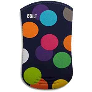 "BUILT Neoprene Kindle Sleeve (Fits 6"" Display, Latest Generation Kindle), Scatter Dot"